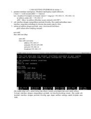 Tutorial cara setting IPaddress, DHCP server. dan Router.pdf
