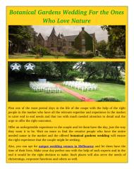 Botanical Gardens Wedding For the Ones Who Love Nature.pdf