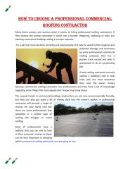 How to Choose a Professional Commercial Roofing Contractor.pdf