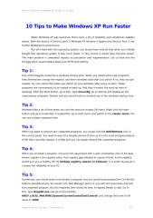 10 Tips to Make Windows XP Run Faster.doc