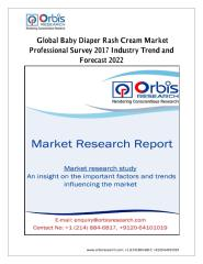 Global Baby Diaper Rash Cream Market Professional Survey 2017 Industry Trend and Forecast 2022.pdf