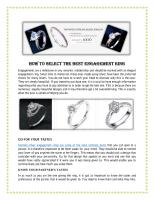 HOW TO SELECT THE BEST ENGAGEMENT RING.pdf