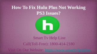 Hulu Plus Activate Toll Free (1-800-414-2180) (1).pptx