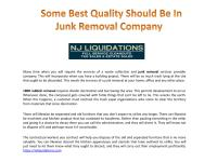 Some Best Quality Should be in Junk Removal Company.pdf