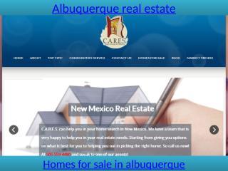 Albuquerque real estate.pptx