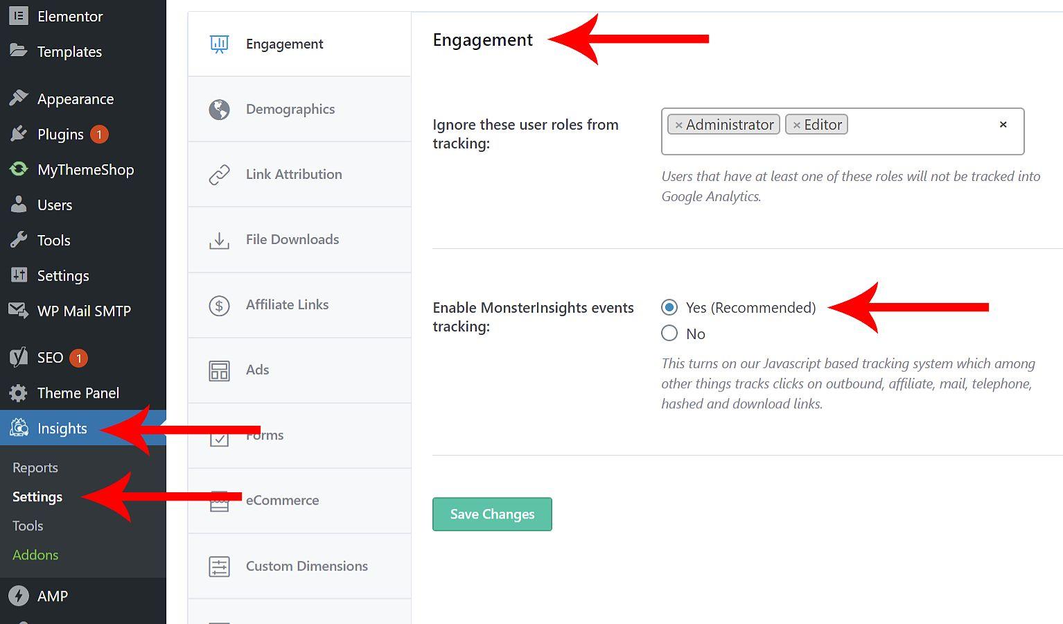 google analytics event tracking tutorial