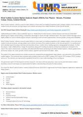 Wind Turbine Systems Market Analysis Report 2018 By Key Players-  Nexans, Prysmian Group, Vestas, General Electric.pdf