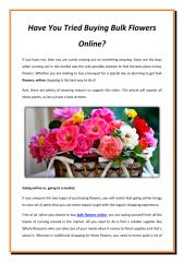 Have You Tried Buying Bulk Flowers Online.pdf