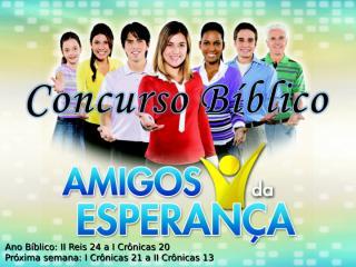 Concurso Bíblico 2011 - 18.ppt