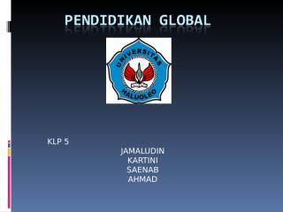 pendidikan global.ppt