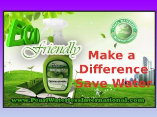 Pear Waterless International- With Pearl Make Difference.pptx