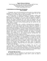 A IMPORTÂNCIA DA PREGAÇÃO REFORMADA.doc