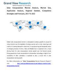 Solar Encapsulation Market.pdf