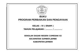 Buku Program Perbaikan Dan Pengayaan.doc