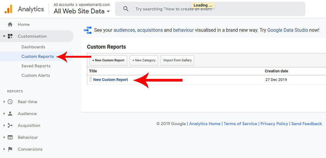 monsterinsights google analytics