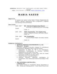 Resume Rabia.doc