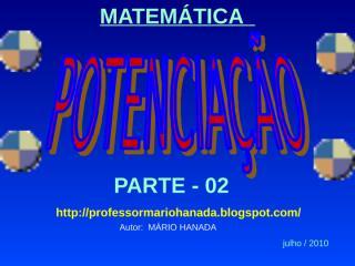 potencias de expoentes reais-julho-2010 - parte - 02.pps