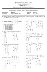 Soal Matematika SMA Kelas XII Bahasa.pdf