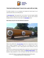 Fuel tank testing doesn't have to be a pain with our help .PDF